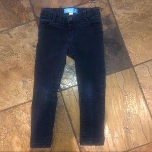 Girls 4T dark wash skinny jeans